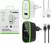 Сетевое зарядное устройство Belkin 2 в 1 для LG Max X155 / L Bello 2