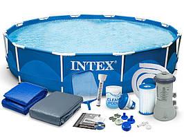 Бассейн Intex 28212 366x76cm 13в1