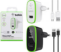Сетевое зарядное устройство Belkin 2 в 1 для Fly IQ4410 Quad Phoenix