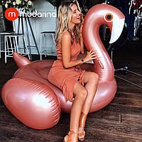 Modarina Надувной матрас Перламутровый Фламинго 150 см, фото 1