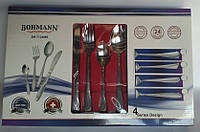 Столовый набор 24 предмета Bohmann BH 7124 MR, фото 1