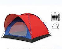 Палатка универсальная 3-х местная (р-р 2х2х1,35м, PL)