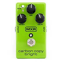 Аналоговая линия задержки MXR Carbon Copy Bright Analog Delay DUNLOP M269SE