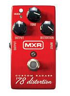 Дисторшн MXR Custom Badass '78 Distortion DUNLOP  M78