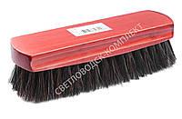 Щетка Тарри для полировки, конский волос, С-14-52В, цв. красный