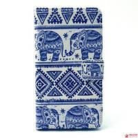 Чехол Книжка Для Samsung Galaxy A5 A500 (Слоники)