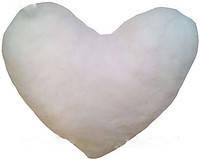 Подушка  для сублимации плюш сердце