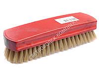 Щетка Тарри для полировки, натуральная щетина, С-14-52Щ, цв. красный
