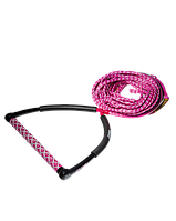 Рукоятка для вейкбординга Jobe Wake Combo Core Pink