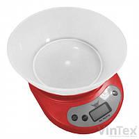 Весы кухонные DEFIANT DKS-502B RED