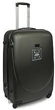 Cредний 4-х колесный чемодан из ABS пластика 63 л. Wings 68934 black