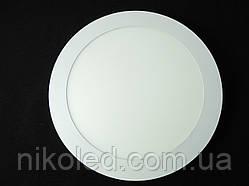 Светильник точечный Slim LED 18W круг 3000К Теплый белый