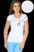 Футболка женская белая, яркие футболки летние
