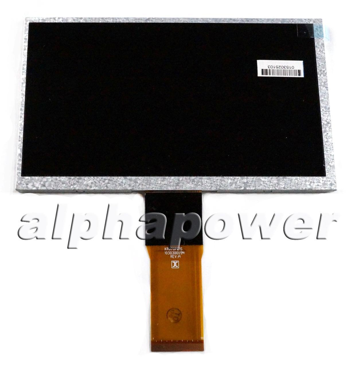 Дисплей (матрица) планшета Bravis NP747 SD тип 1 50 Pin