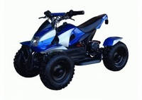 Электрический квадроцикл HL-E421В 500Wс электро спидометром(синий,черный,красный)