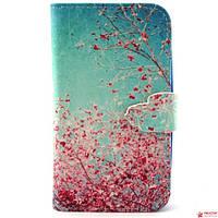 Чехол Книжка Для Samsung Galaxy A5 A500 (Сакура)