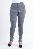 Женские укороченые брюки Лия черно-белые