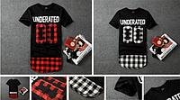 Ghetto Gothic удлиненная футболка Underated