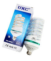 LED лампа 5W E27 Спиральная UKC