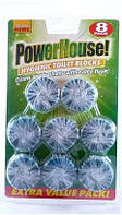 PowerHouse таблетки в бачок унитаза, 8 шт.
