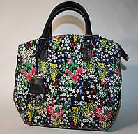 Женская сумка Tony Bellucci цветы нубук кожа