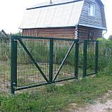 Ворота розпашні і хвіртки з зварної сітки Прикриє™, фото 6