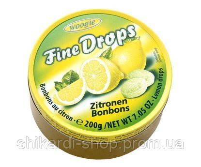 Fine Drops Лимон леденцы в ж/б, 200 г, фото 2