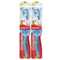 COLGATE 360 зубная щетка мягкая, 2 шт.