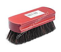 Щетка Тарри для полировки, конский волос, С-4-52В, цв. красный