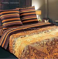 Ткань для постельного белья, поплин (хлопок) Арабика, компаньон