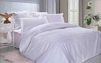 Ткань для постельного белья, поплин (хлопок) Белый по белому жаккард