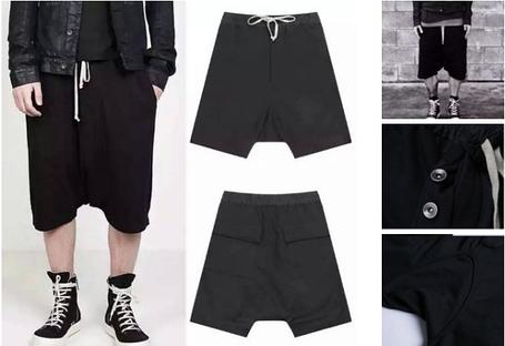 Ghetto Goth Swag шорты с матней , фото 2
