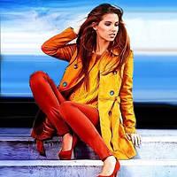 Демисезонные куртки, пальто, плащи, ветровки женские