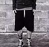 Ghetto Goth Swag шорты с матней , фото 3