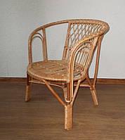 Плетенное кресло Кофе ЧФЛИ из лозы
