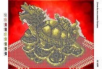 Схема для вышивания бисером -Черепаха