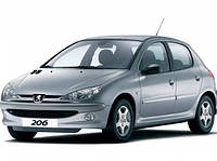 Лобовое стекло Peugeot 206 ,ПЕжо 206 1998- AGC