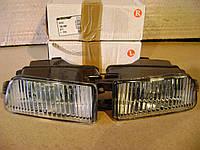 Audi 100 C4 галогенка левая фара противотуманка линза дополнительная Ауди