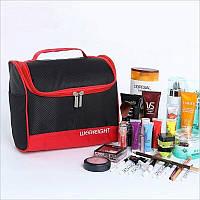Большая косметичка, сумка, органайзер, несессер, кейс в отпуск, мужская, женская, черная