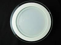 Светильник точечный Стекло LED 18W круг