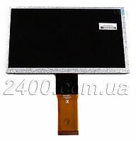 Дисплей - матрица планшета Assistant AP - 700, Assistant AP - 711 50pin 3,5х100х165мм, фото 1