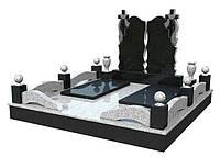 """Памятник из гранита для двоих """"Вечность"""""""