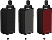 Joyetech eGo AIO Box: 2100 мАч, защита от детей, индикатор заряда, бак 2 мл, Black-Black/ Black-Gray