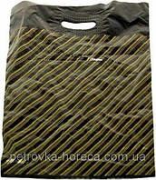 Пакет черный Диагональ 30х40 см, 30 мкм, 50 шт