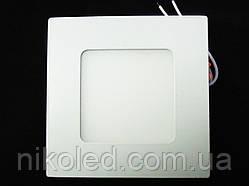 Светильник точечный Slim LED 3W квадрат 4000К,3000К