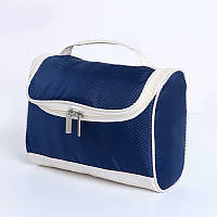 Большая косметичка, сумка, органайзер, несессер, кейс в отпуск, мужская, женская, синяя