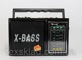 Радиоприёмник Golon RX-177Led (USB/Аккумулятор/FM/Фонарь)