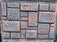 """Наборный столбик  для ограждения"""" Рубик-1"""" 37х25х25"""