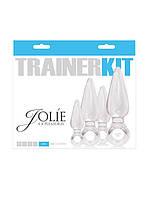 Набор анальных пробочек, Jolie 4Pc Trainer Kit Clear
