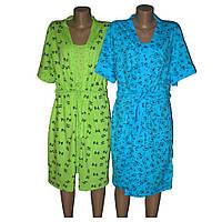 Комплект женский сорочка халат для дома